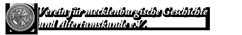 Verein für mecklenburgische Geschichte und Altertumskunde e. V.